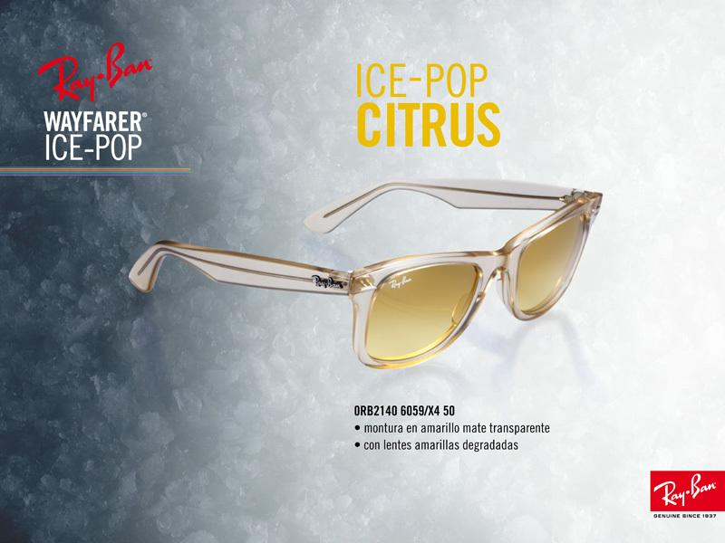 Ray-Ban Wayfarer Ice Pop Citrus