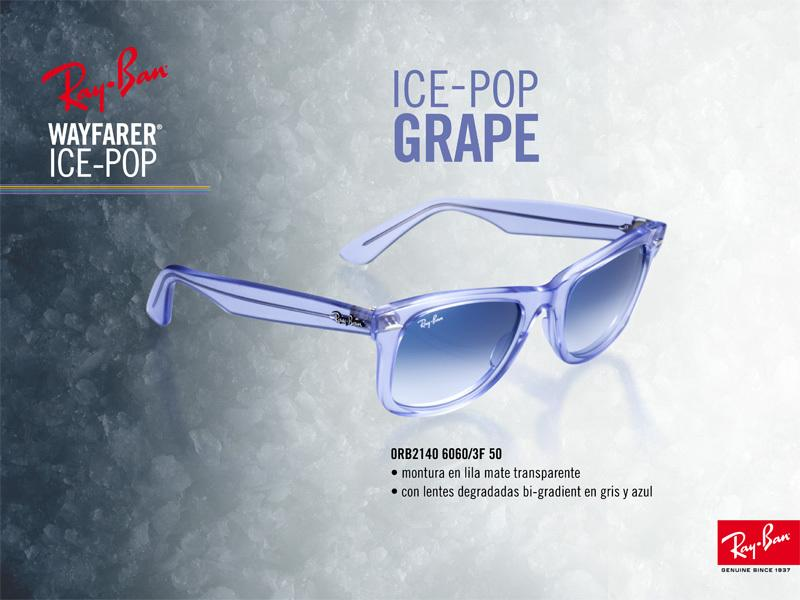 Ray-Ban Wayfarer Ice Pop Grape