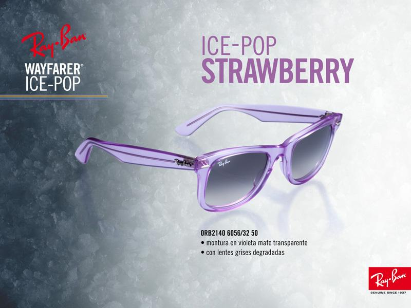 Ray-Ban Wayfarer Ice Pop Strawberry