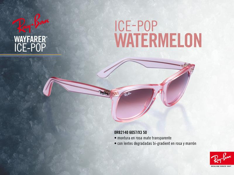 Ray-Ban Wayfarer Ice Pop Watermelon