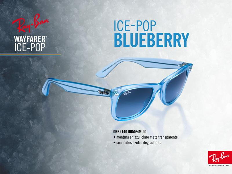 Ray-Ban Wayfarer Ice Pop Blueberry