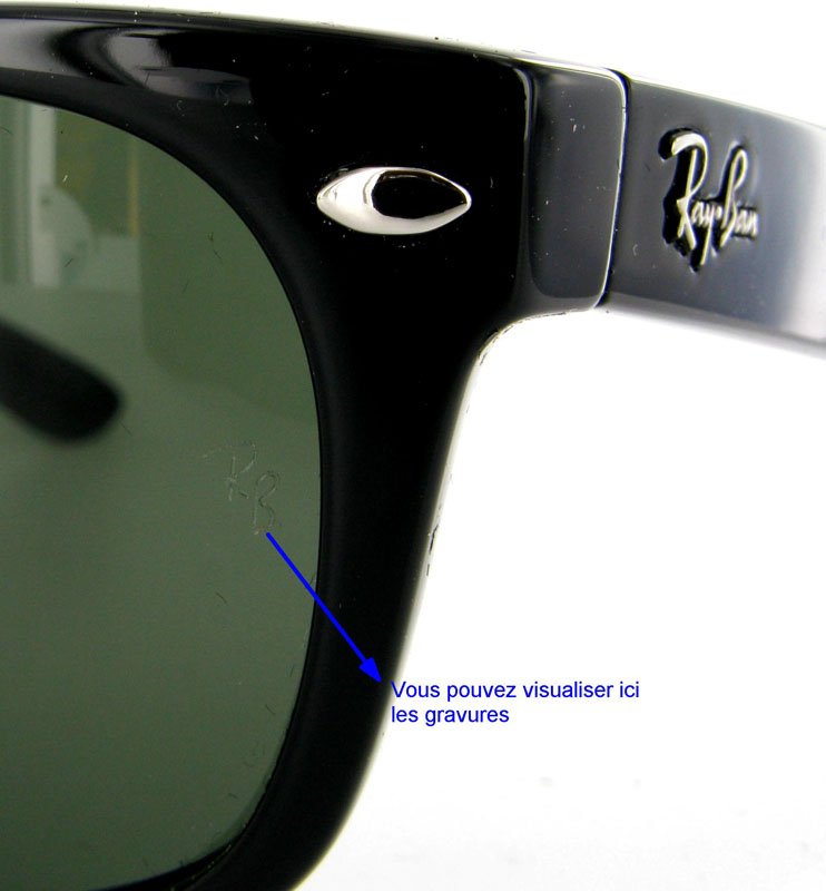 stickers ray ban lunette
